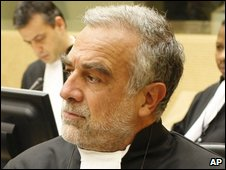 Prosecutor of the International Criminal Court, Luis Moreno Ocampo, on 12 January 2009
