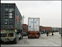 قافلة للناتو في باكستان