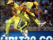 Chennai players in action