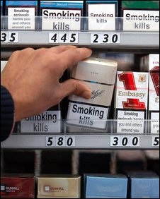 Much does Bond cigarettes cost Ireland