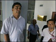 Tharanga Paranavitana's father in Colombo,