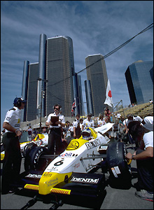 The Williams-Honda of Keke Rosberg