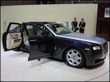 Rolls-Royce's EX200 concept