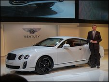 Bentley chief Franz-Joseph Paefgen unveils the Continental Supersport