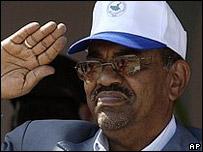 Omar al-Bashir, presidente sudan�s