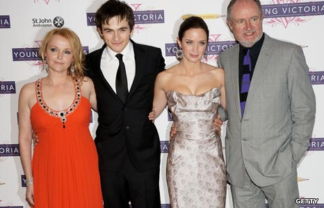 Miranda Richardson, Rupert Friend, Emily Blunt and Jim Broadbent
