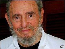 Fidel Castro on 12 February 2009
