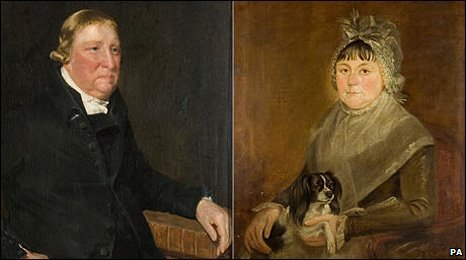 The portraits of Golding and Ann Constable