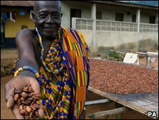 Cocoa farmer