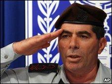 Israeli military chief Gabi Ashkenazi