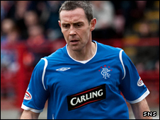 Rangers defender David Weir