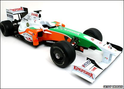 Force India's 2009 car