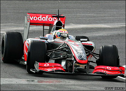 The 2009 McLaren