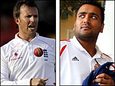 Graeme Swann and Samit Patel