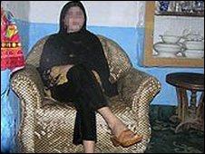 Swat dancing girl at home