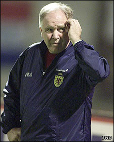 Former Scotland manager Craig Brown