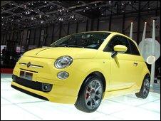 A Fiat car
