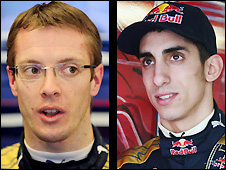 Sebastien Bourdais and Sebastien Buemi