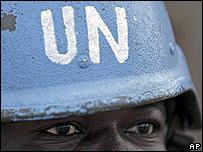 Soldado de Naciones Unidas