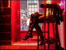 Sex worker in soho