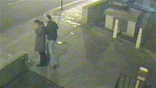CCTV image of two men