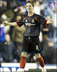 Inverness midfielder Ian Black