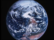 Nasa photograph of Earth