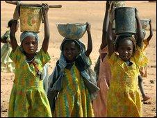 Farchana camp, Darfur