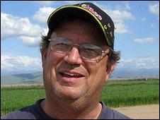 Beekeeper David Bradshaw