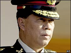 The Thai army commander, Gen Anupong Paochinda (file photo)