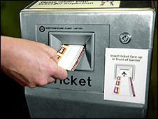 Subway ticket