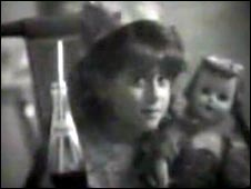 "Eight-year-old ""Madonnna"" in the 1989 advert"