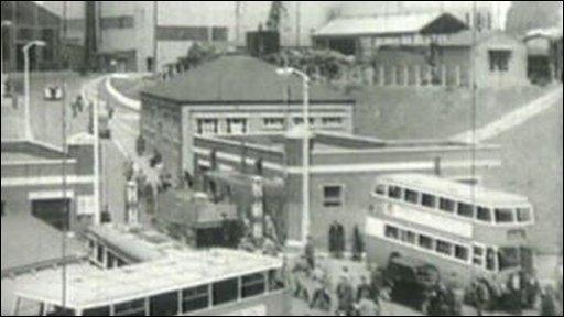 Ebbw Vale steelworks 1948