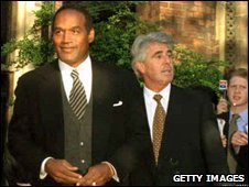OJ Simpson and Max Clifford