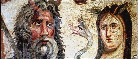 Romain mosaic, AP
