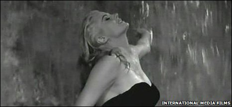 Anita Ekberg in La Dolce Vita, pic Internatioanl Media Films