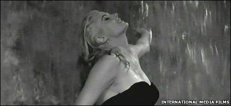 Anita Ekberg in La Dolce Vita, pic Internatioanl Media Films