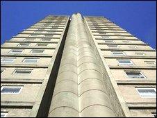Cwmbran tower block