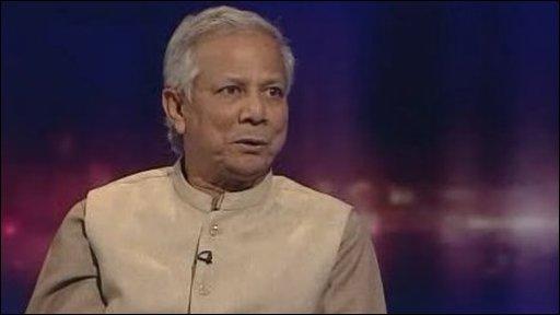 Professor Muhammad Yunus,