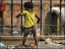 Child in Delhi