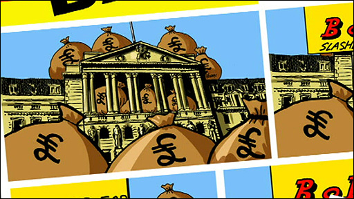 Bank of England in comic book form