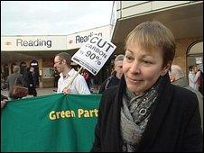 Dr Caroline Lucas, Berkshire Green MEP,