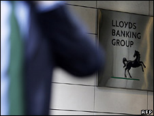 Lloyds Banking Group sign