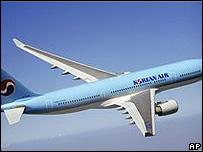 Avión de Korean Air