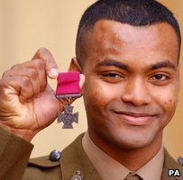 Lance Corporal Johnson Beharry