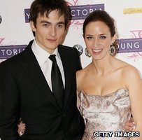 Rupert Friend and Emily Blunt