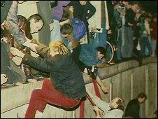 Berlin wall, 1989