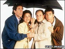 The cast of Seinfeld