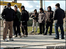 Illegal immigrants in Calais