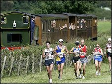 A previous race the train event